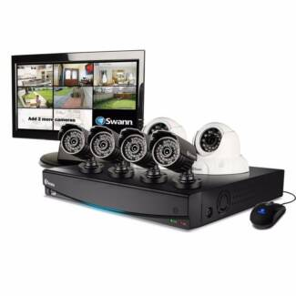 SWANN Digital Security Recorder 6 x Cameras 1TB Monitor DVR8-3425 Belmore Canterbury Area Preview