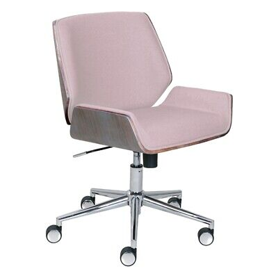 - Elle Decor Ophelia Bentwood Task Chair in Pink