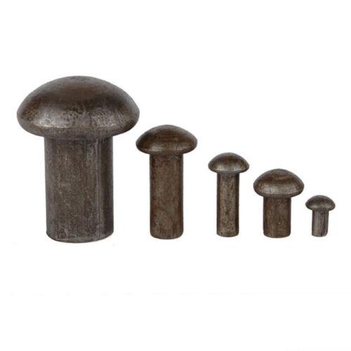 M3 M4 GB867 Carbon steel half-round head solid iron rivets percussion rivet