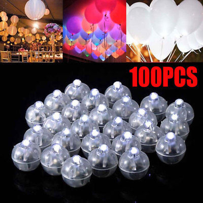 - 100pcs LED Ball Lamps Balloon Light for Paper Lantern Wedding Party Decoration