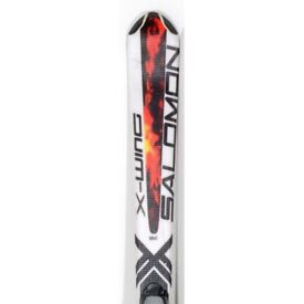 Salomon fury skis 130cm suit 10 to 14yrs. Snow is here!