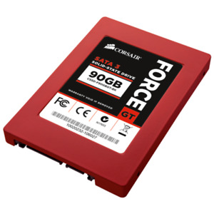 SSD Corsair Force Series GT 90 Go, CSSD-F90GBGT-BK