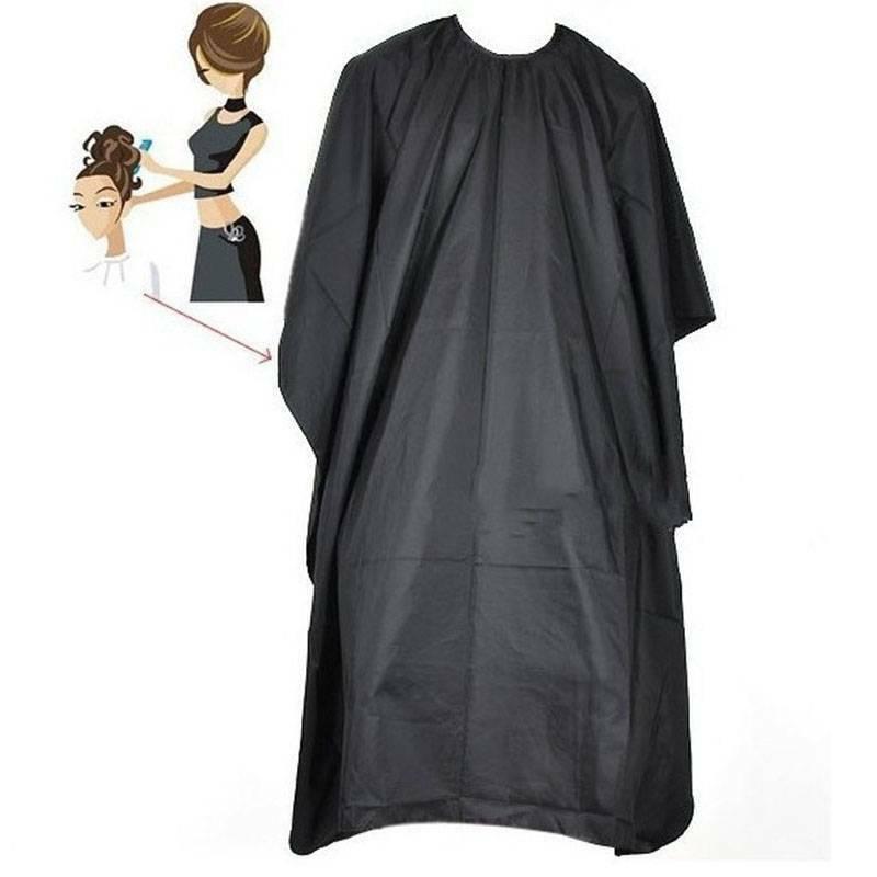 Black Barber Shop Salon Cape Gown Hair Cutting Hairdressing