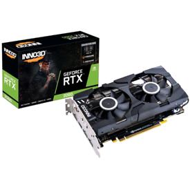 Inno3D NVIDIA GeForce RTX 2060 Twin X2 6GB Dual Fan Graphics Card
