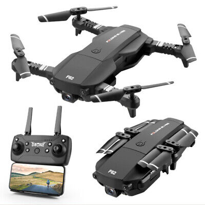 Quadcopter Drone 4K Two 720P HD Camera With WIFI FPV Camera Hold Foldable Set