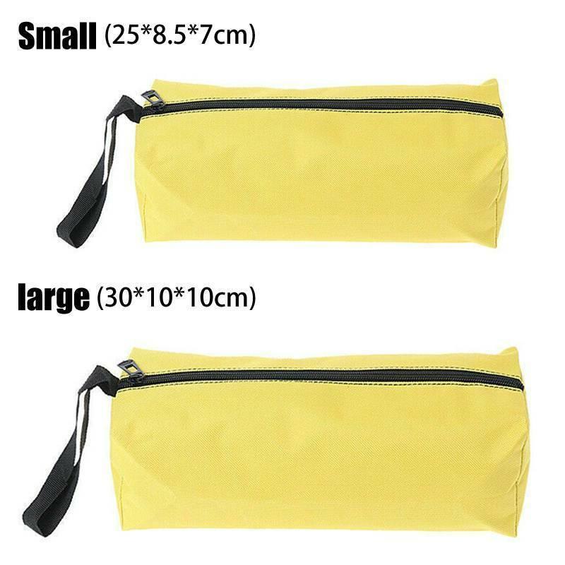 Portable Tool Storage Bag Spanner Zipper Plain Organizer Carry Case Pouch Bags Home & Garden