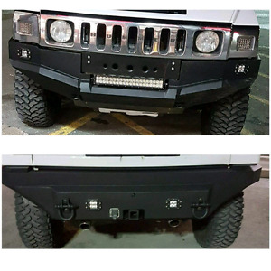 Metal fabrication, bumpers, light bars, tire carriers.
