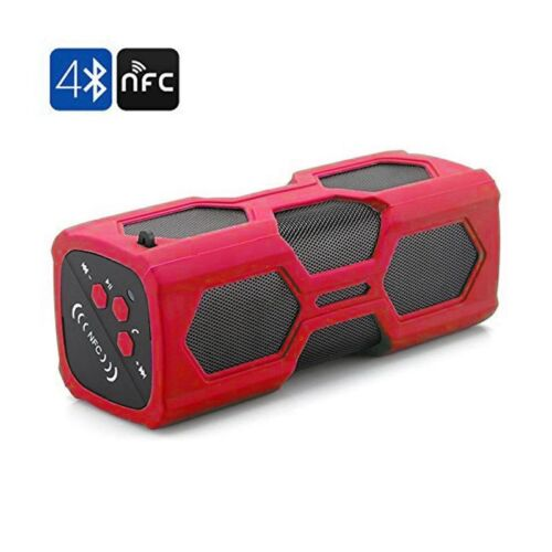 Portable Bluetooth Wireless Speaker Waterproof Power Bank Ultra Bass Subwoofer