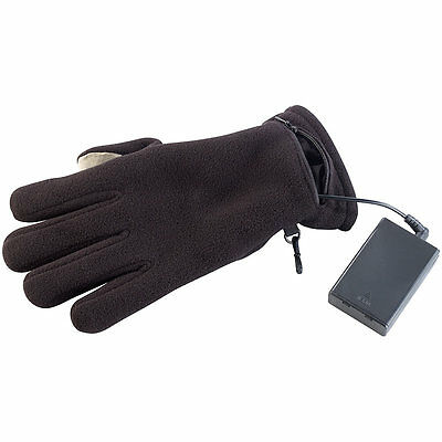Heizbare Handschuhe: beheizbare Handschuhe mit kapazitiven Fingerkuppen, Gr. XL
