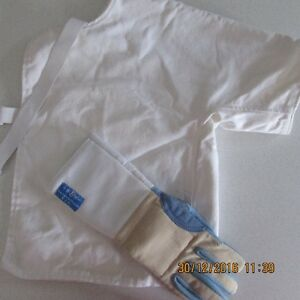 Fencing Vest and Glove size M