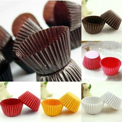 1000Pc Paper Cake Cup Cupcake Muffin Chocalate Cases Liners kitchen Baking Tool (Cupcake Papers)