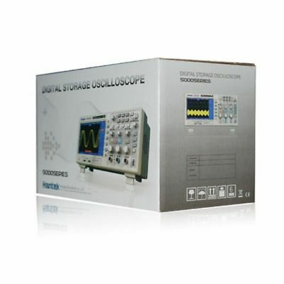 Hantek Dso5102p Digital Oscilloscope 2ch 100mhz 1gs 7 Tft 8-bit 4nsdiv-40sdi