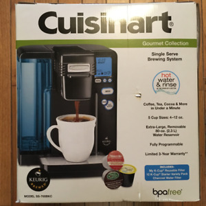 NEW CUISINART GOURMET COLLECTION SINGLE SERVE BREWING SYSTEM