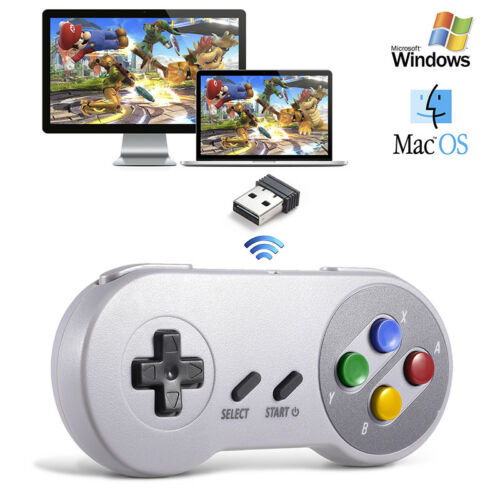 Wireless SNES Controller USB receiver for PC Windows 10 MAC