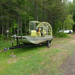 Yankee Airboat & Trailer