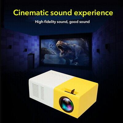 1080P Full HD LED LCD Multimedia Projector Portable Mini USB