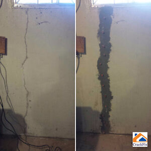 Permanent Foundation Crack Repair, Insured, WCB covered Edmonton Edmonton Area image 7