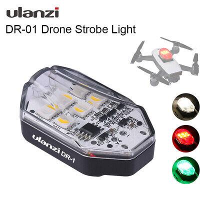 Ulanzi DR01 Type-C Charging RGB Drone Strobe Light Compatible for Dji MAVIC Mini