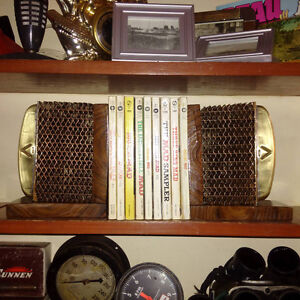 Vintage Heater Core Bookends
