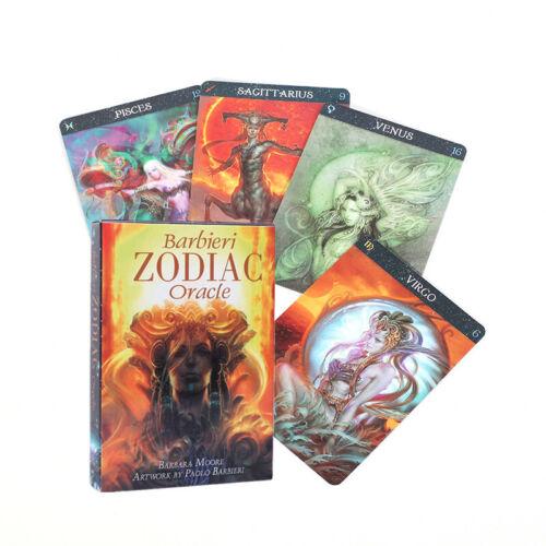 Barbieri Zodiac Oracle Cards Deck Esoteric Telling Lo Scarabeo New Deck