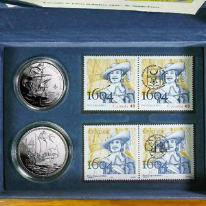 2004 400th Anniversary of the First French Settlement  Set