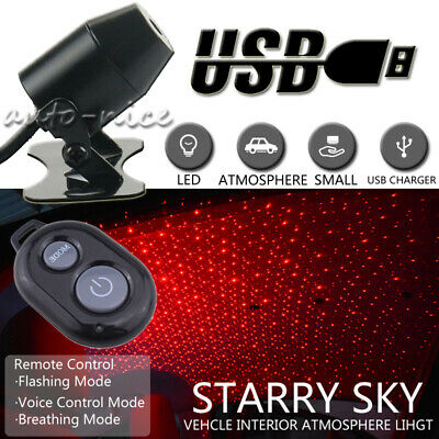 Red Car Star Light Projector Ambient Atmosphere Light Decoration Voice Control - Party City University