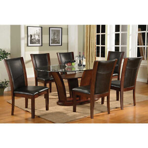Ambrose 7154SC (Br) - Dining Seating Chairs - 4 chairs