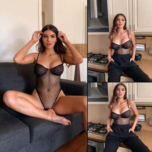 Women Sexy Lingerie Underwear Babydoll Bodysuit Nightwear Sleepwear Nightgown