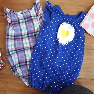 3-6 month girls summer lot