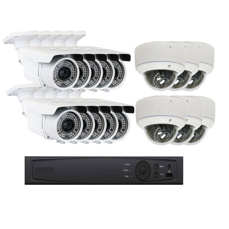 New SV 16Channel 5MP NVR 2.8~12mm Varifocal Lens IP ONVIF Security Camera System