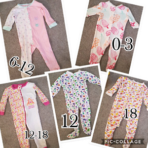 Baby girl O-18 months  $2 each