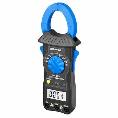 Digital Clamp Multimeter Ac Dc Voltage Current Resistance Dmm Meter Hp-6206