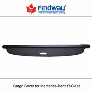 Cargo Cover Anti-Theft Shield For 2006-2013 Mercedes-Benz R
