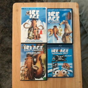 Ice Age Collection (DVDs & Blu Ray)