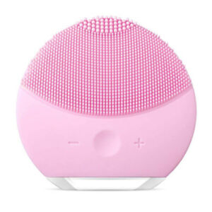 Pink Waterproof Silicone Facial Cleanser