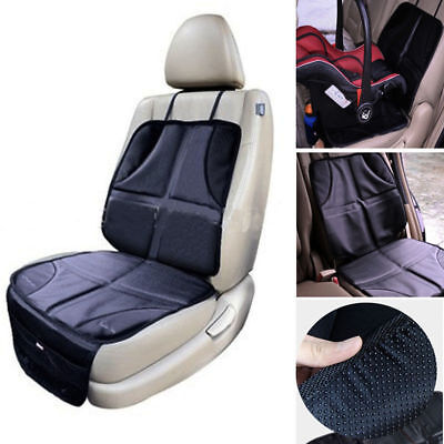 Black Child Seat (Universal Baby Child Car Seat Saver Anti-slip Protector Cushion Cover Black )