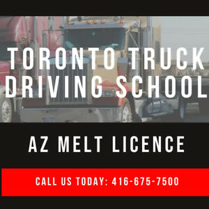AZ Licence- Truck Training- MELT Program - 10% off Sale!