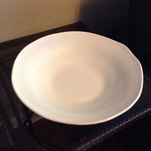 Handmade large ceramic bowl from Italy
