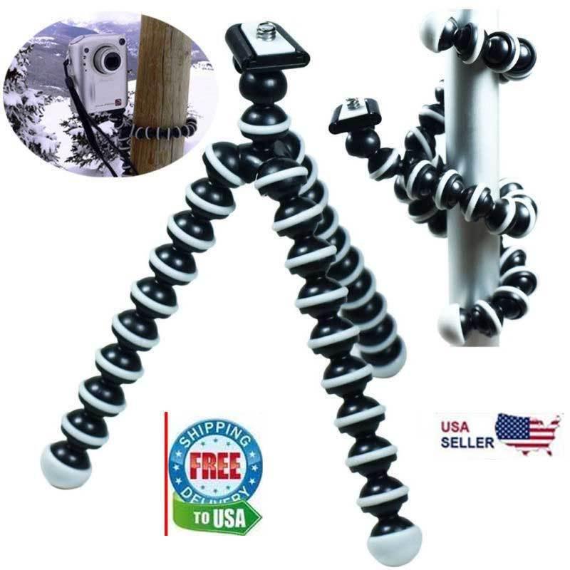 Flexible Tripod Stand Gorillapod for Camera Digital DV Canon Nikon Small size Cameras & Photo