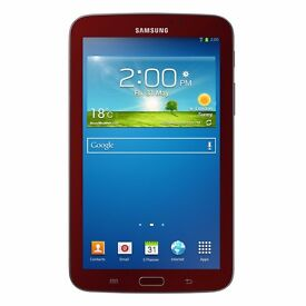 "New Samsung Galaxy Tab 3 7"" Tablet 1GB 8GB Garnet Red Was: £179.99"