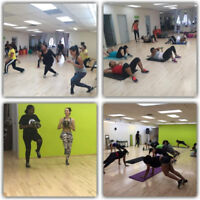 Join our fun group workout
