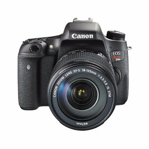 CANON EOS REBEL T6S W/18-135 IS STM LENS