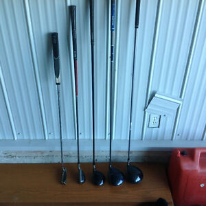 Left handed clubs