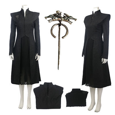 on 7 Dragon Mother COS Service Danieli Skirt Costume Clothes (Games Of Thrones Kostüm)