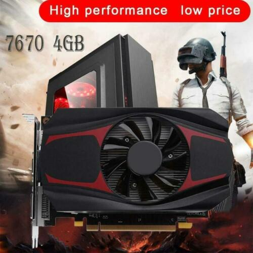 4GB 128Bit DDR5 Video Grafikkarte PCI-E Graphics Card Für AMD ATI HD7670 DE