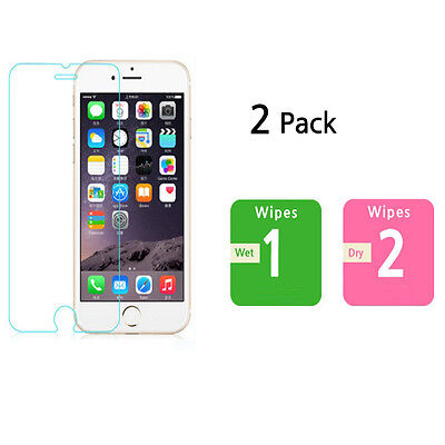 """(2Pack)premium tempered i Phone6/6s Screen Protector, Tempered glass film4.7"""""""