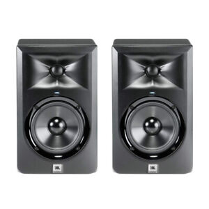 "JBL LSR305 5"" studio monitors - perfect condition"