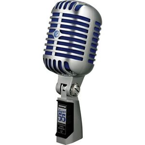TRADE SHURE SUPER 55 DELUXE MICROPHONE FOR MIXER BOARD