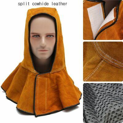 60cm Leather Welding Safety Hood Welders Workplace Helmet Mask Protective Hoods