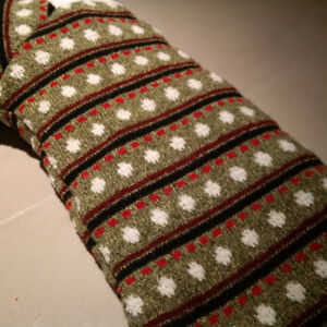 Knitted and Quilted stocking